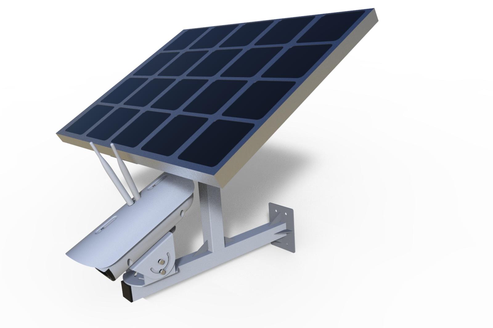 太阳能4G监控KSOL-5100-4G-55W